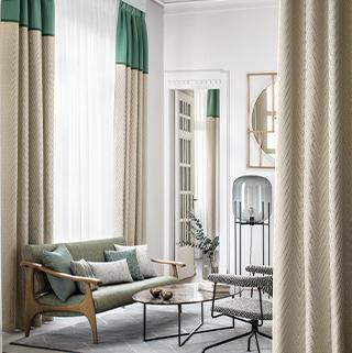 шторы и подушки в интерьере
